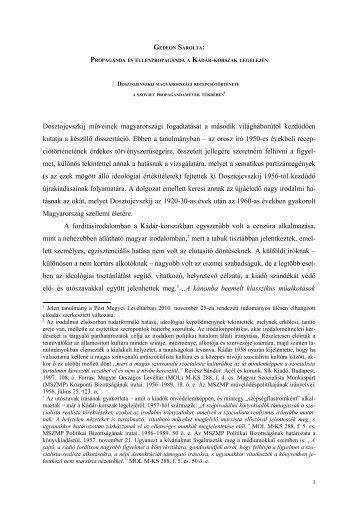 GEDEON SAROLTA: - Pest Megyei Levéltár