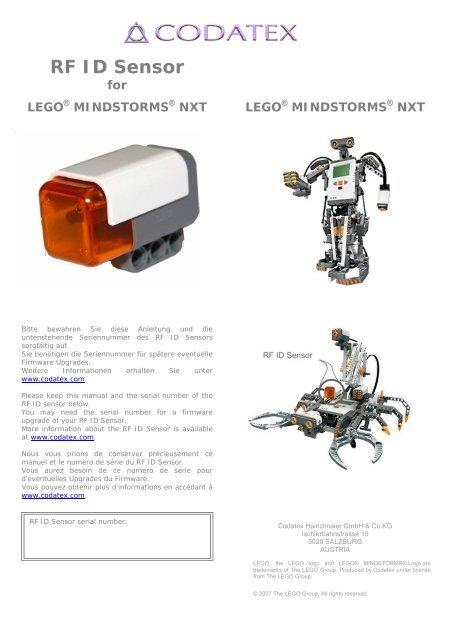 RF ID Sensor for LEGO® MINDSTORMS® NXT - CODATEX