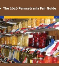 online fair guide 09 - Pennsylvania State Association of County Fairs