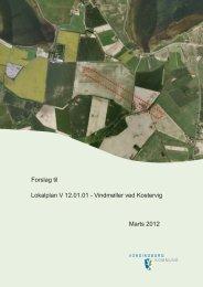 Vindmøller ved Kostervig - Vordingborg Kommune