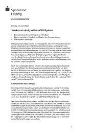 2012-04-25 Sparkasse Leipzig weiter auf Erfolgskurs