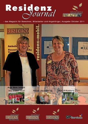 Ausgabe Oktober 2011 | Seite 1 - Seniorenresidenz Moseltal