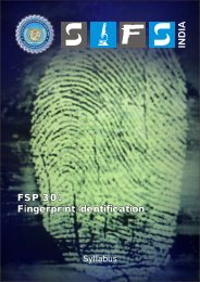 FSP 301 Fingerprint Identification