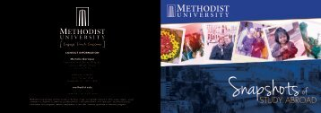 Study Abroad - Methodist University