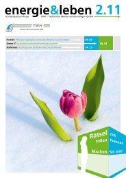 Ausgabe 02/2011 - TWH-Technische Werke Herbrechtingen GmbH