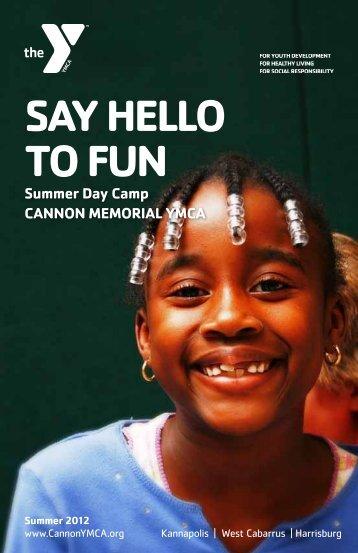 camp - Cannon Memorial YMCA