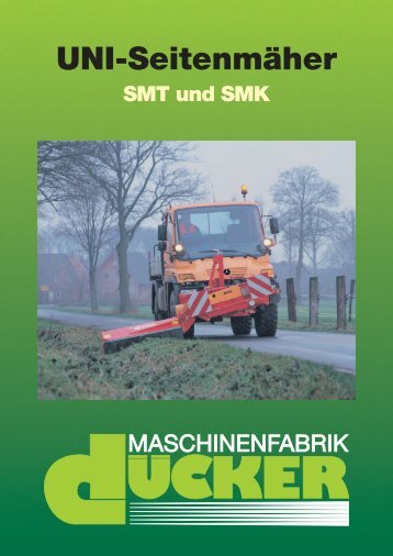 UNI-Seitenmäher SMT 15 - Special Maskiner A/S