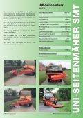 UNI-Seitenmäher SMT 15 - Special Maskiner A/S - Seite 3