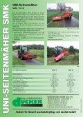 UNI-Seitenmäher SMT 15 - Special Maskiner A/S - Seite 4