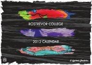 2012 Calendar.indd - Rostrevor College