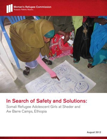 In Search of Safety and Solutions: - Women's Refugee Commission