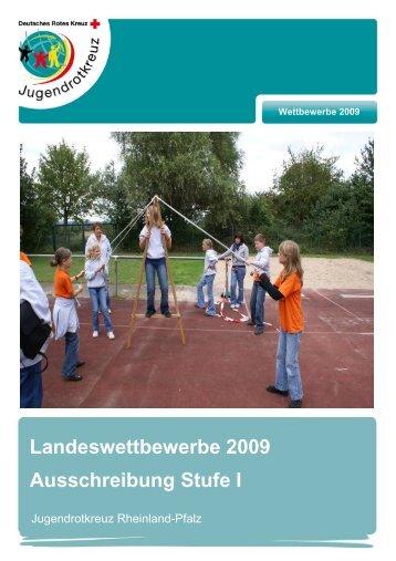 Landeswettbewerbe 2009 Ausschreibung Stufe I