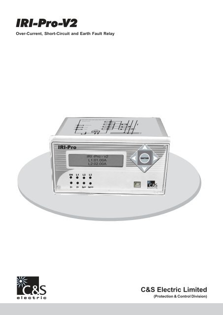 IRI-PRO V2 pdf - C&S Electric Limited