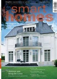 Wohnen von lässig bis Luxus - Smart Homes