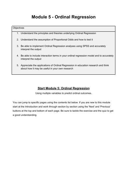 Module 5 - Ordinal Regression PDF