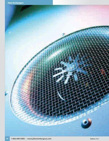 PWS Series Air/Water Heat Exchangers - Pfannenberg