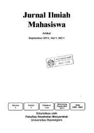 Jurnal Ilmiah Mahasiswa - PDII – LIPI