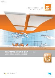 THERMATEX SONIC SKY - Trockenbauforum.de