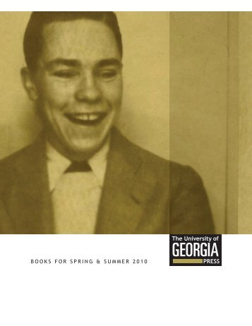 Spring 2010 - University of Georgia Press
