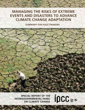 Summary for Policymakers - IPCC