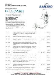 SOLIMAR STEUERSYSTEM - SAILTEC GmbH