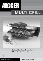 05187 KGM5579A manual grill
