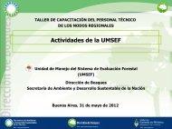 UMSEF - Secretaria de Ambiente y Desarrollo Sustentable