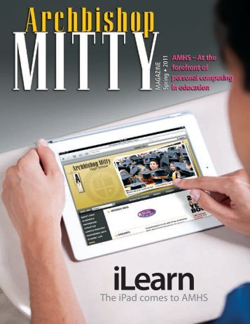 The iPad comes to AMHS - Archbishop Mitty High School
