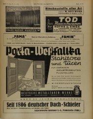 Seit 1806 deutscher Dach'Schiefer