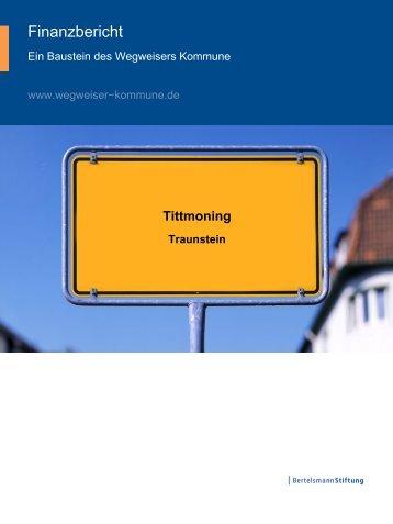 Finanzbericht Tittmoning 2011