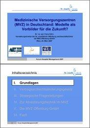 Dr. rer. pol. Franz Hahn - Vinzenz Gruppe