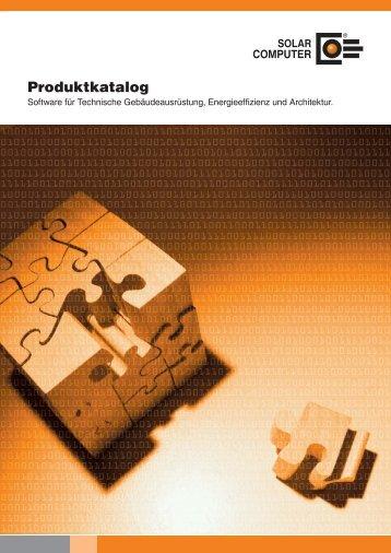 Produktkatalog - SOLAR-COMPUTER GmbH