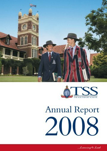 Annual Report - The Southport School