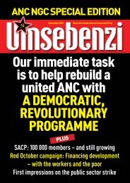ANC NGC Special Edition - South African Communist Party