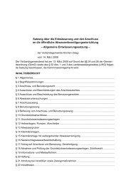 Allgemeine Entwässerungssatzung - Verbandsgemeinde Kirchen ...