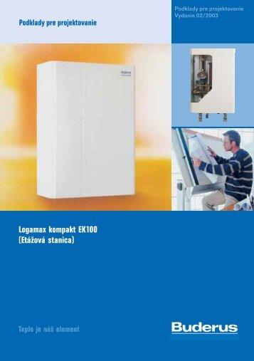 Logamax kompakt EK100 (Etážová stanica) - Buderus