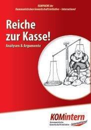 Reiche zur Kasse! (pdf) - KOMintern