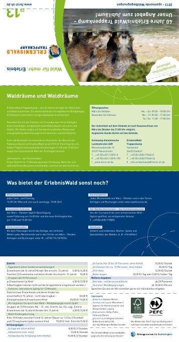 SHLF Veranstaltungskalender 2013.pdf - Falknerei ...