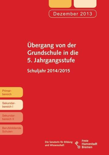 Übergang von der 4. in die 5. Jahrgangsstufe (pdf, 757.2 KB)