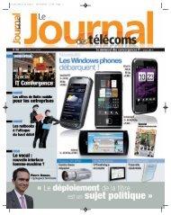 Projet2:Mise en page 1.qxd - Le Journal Des Télécoms