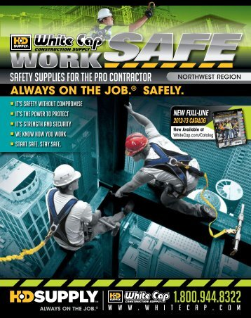 fall prOTeCTiON - White Cap Construction Supply
