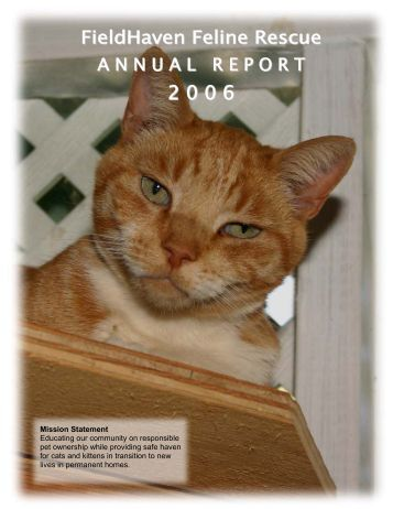 2006 Annual Report - FieldHaven
