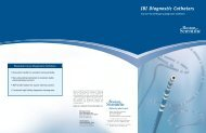 IBI Diagnostic Catheters - Boston Scientific