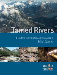 Tamed Rivers - Watershed Watch Salmon Society