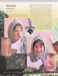 Digital is different - Graphic Exchange magazine