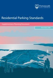 Residential Parking Standards SPD - Portsmouth City Council