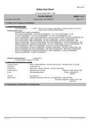 Safety Data Sheet - Wella