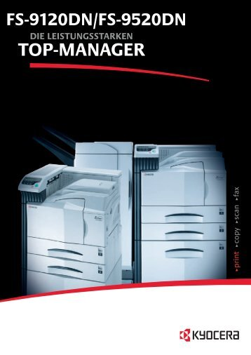 TOP-MANAGER - Kyocera