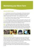 Guide to Worm Farming - Pittwater Council - Page 5