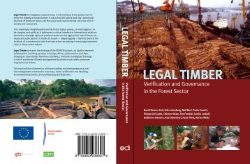 Legal Timber - Overseas Development Institute